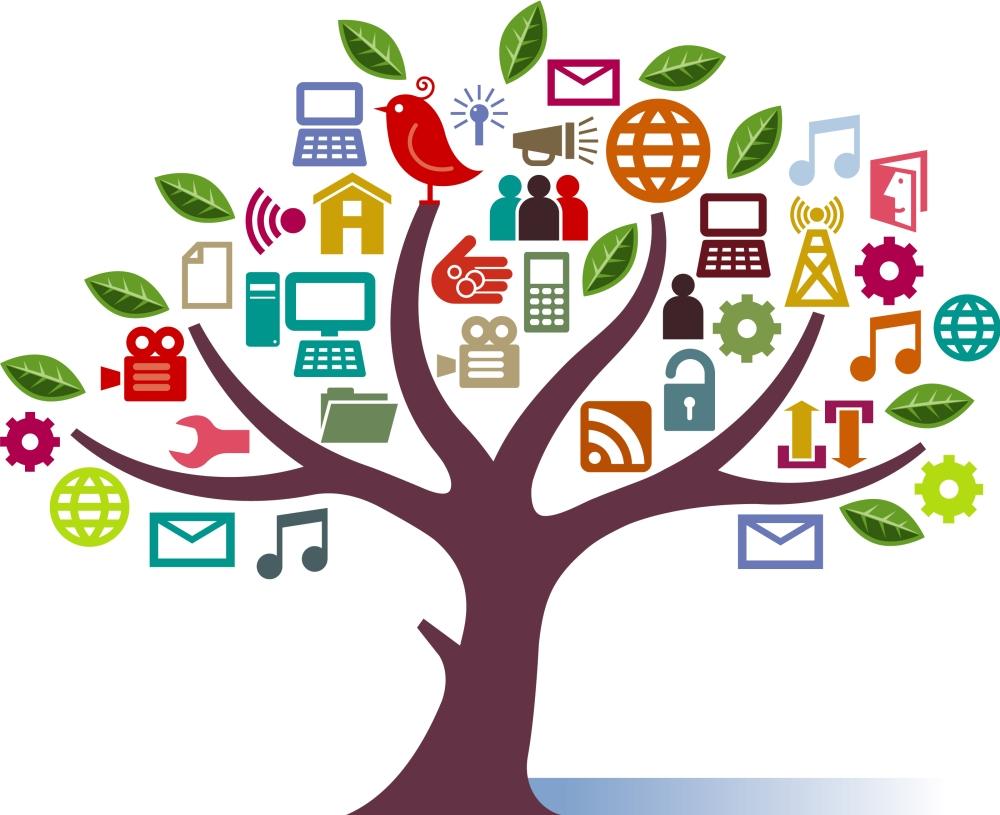 Social-Media-Tree